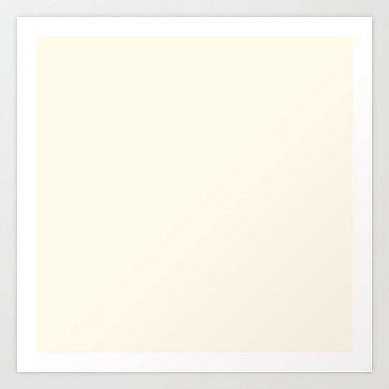 Vanilla Cream Art Print