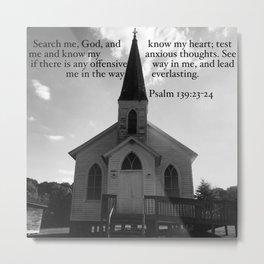 Church with a Prayer Metal Print