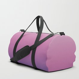 Pink Ultra Violet Ombre Gradient Pattern Duffle Bag