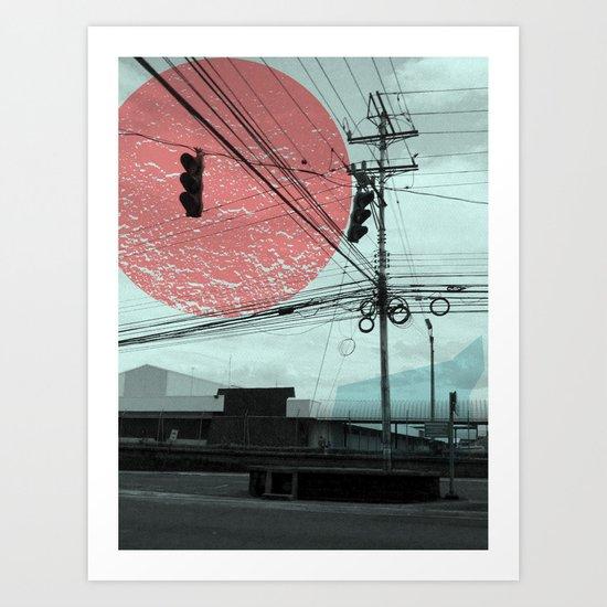 Costa Rica 4 Art Print