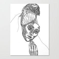 Mask 02 Canvas Print
