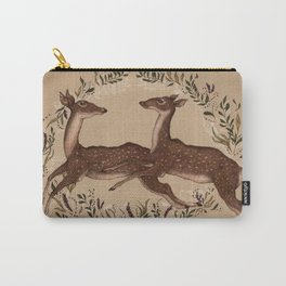 Jumping Deer Carry-All Pouch
