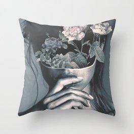 inner garden Throw Pillow