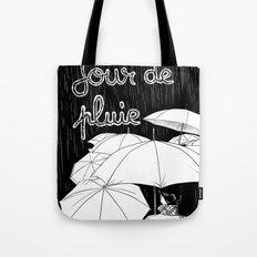 jour de pluie (rainy day) Tote Bag