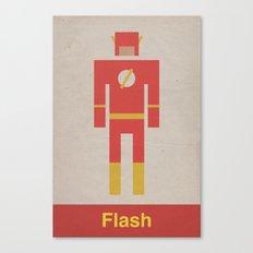 Retro Flash Canvas Print