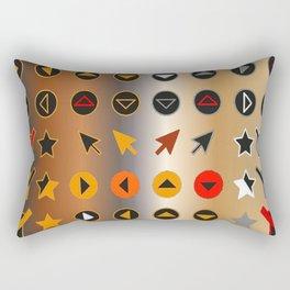 Symbology 4 Rectangular Pillow