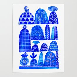 cairns in blues ... Poster