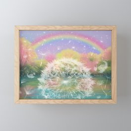 Hope - Colorful Framed Mini Art Print