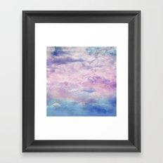 Cloud Trippin' Framed Art Print