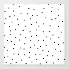Stars All Over Canvas Print