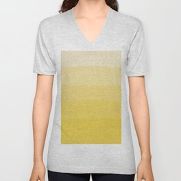 Five Shades of Watercolor Sand Unisex V-Neck