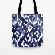 Indigo Blue Ikat Tote Bag