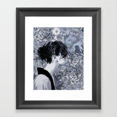 Searchin' Framed Art Print