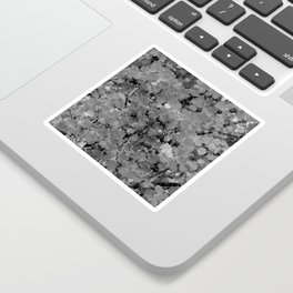 Berries in Black and White Sticker