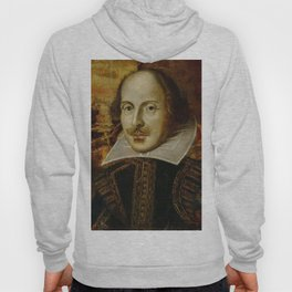 Vintage Portrait Painting of William Shakespeare (1609) Hoody