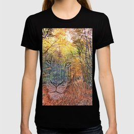 Lion in Woods Mix T-shirt