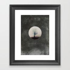 Paradis Noir Framed Art Print