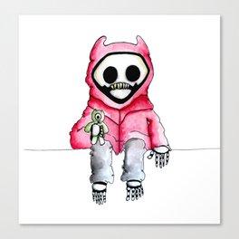Kid Death Canvas Print