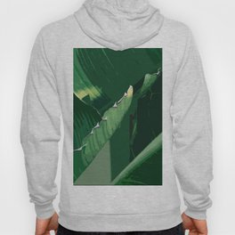 Green leaf Hoody