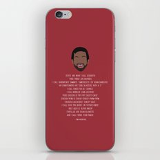 Tom Haverford-isms iPhone & iPod Skin