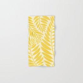 Golden Yellow Leaves Hand & Bath Towel