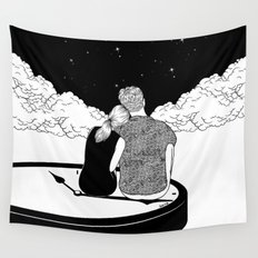 Time stands still Wall Tapestry