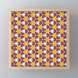 Abstract Fest Pattern 07 Framed Mini Art Print