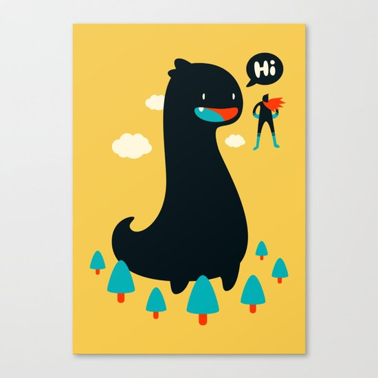 Safe from Harm Canvas Print