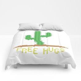 free hugs 2 Comforters