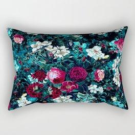 Night Garden IX Rectangular Pillow