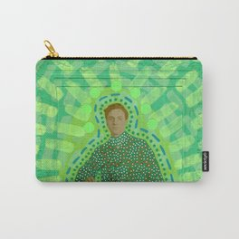 Lime Man Carry-All Pouch