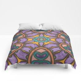 Mandala Mirror Comforters