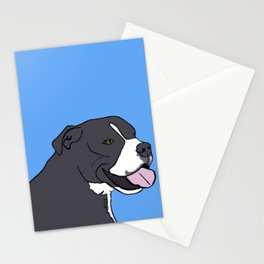 Cash The True Bluenose Pit Bull Stationery Cards