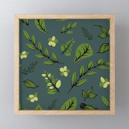 Flower Design Series 8 Framed Mini Art Print