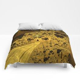 City of Golden Dust Comforters