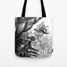 Sky Bird Tote Bag