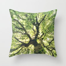 Under Your Skin Throw Pillow