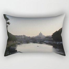 The Vatican from the Tiber River Rectangular Pillow
