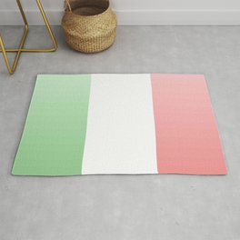 flag of Italy -with color Gradient Rug
