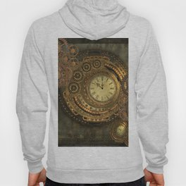 Awesome steampunk design, clockwork Hoody
