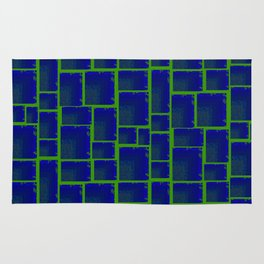 Vibrant Tetris Rug