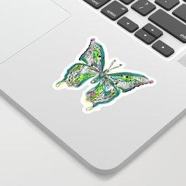 Fly Butterfly Sticker