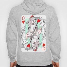 Queen Of Hearts Hoody