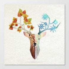 deer season Canvas Print