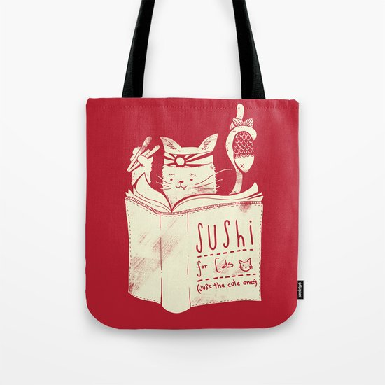 Sushi for Cats Tote Bag