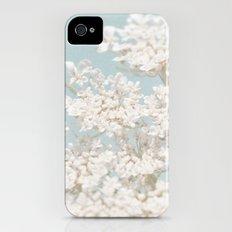 Pale Aqua: Dreaming of Spring iPhone (4, 4s) Slim Case