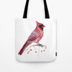 Red Cradinal Tote Bag
