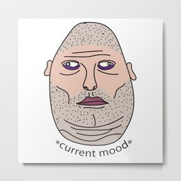 Current Mood Metal Print