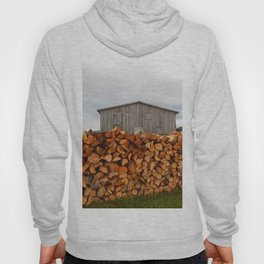 Firewood and Barn Hoody