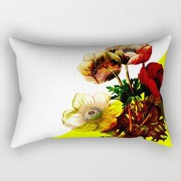 Vintage Bunch /Neon Wedge Rectangular Pillow
